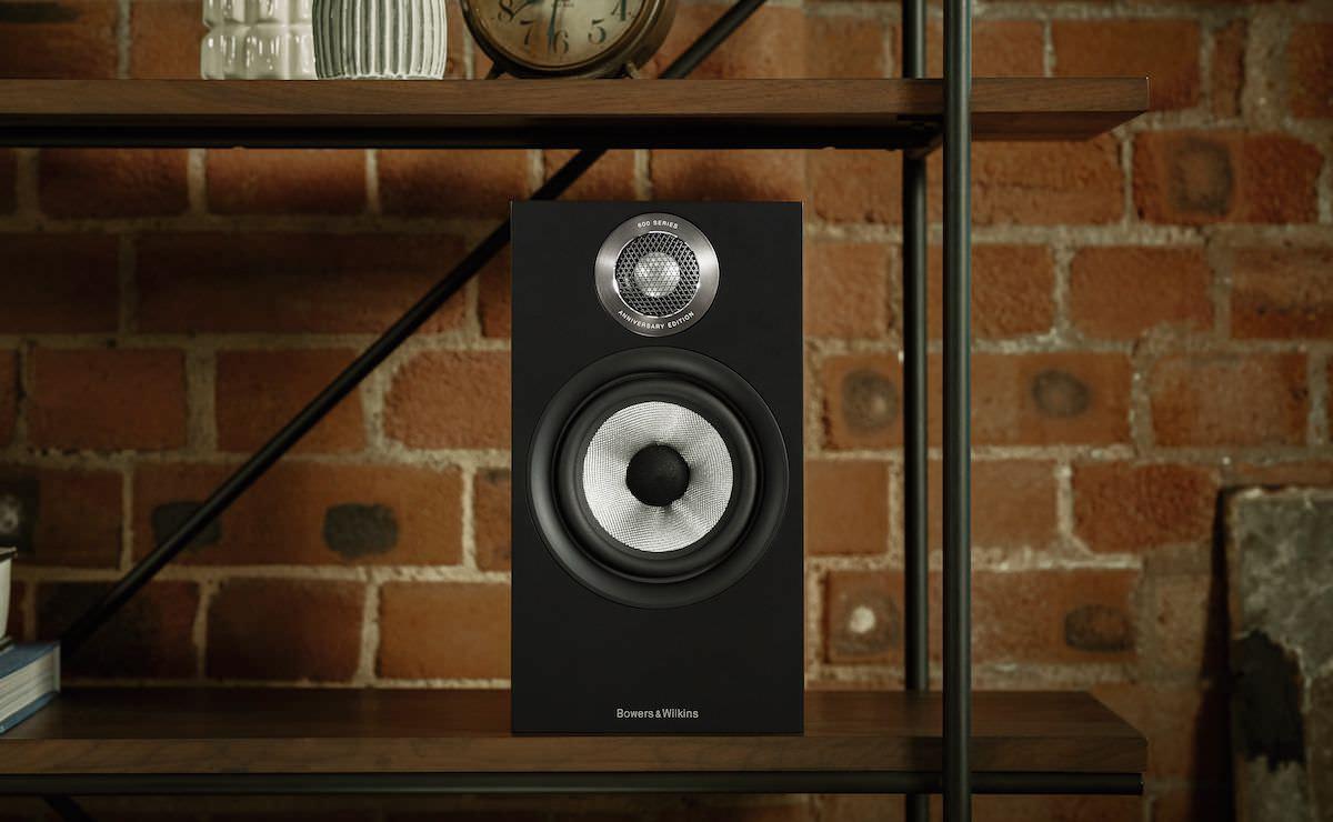 Bower Wilkins 607 S2 Anniversary Edition Floorstanding Loudspeakers in Matte Black