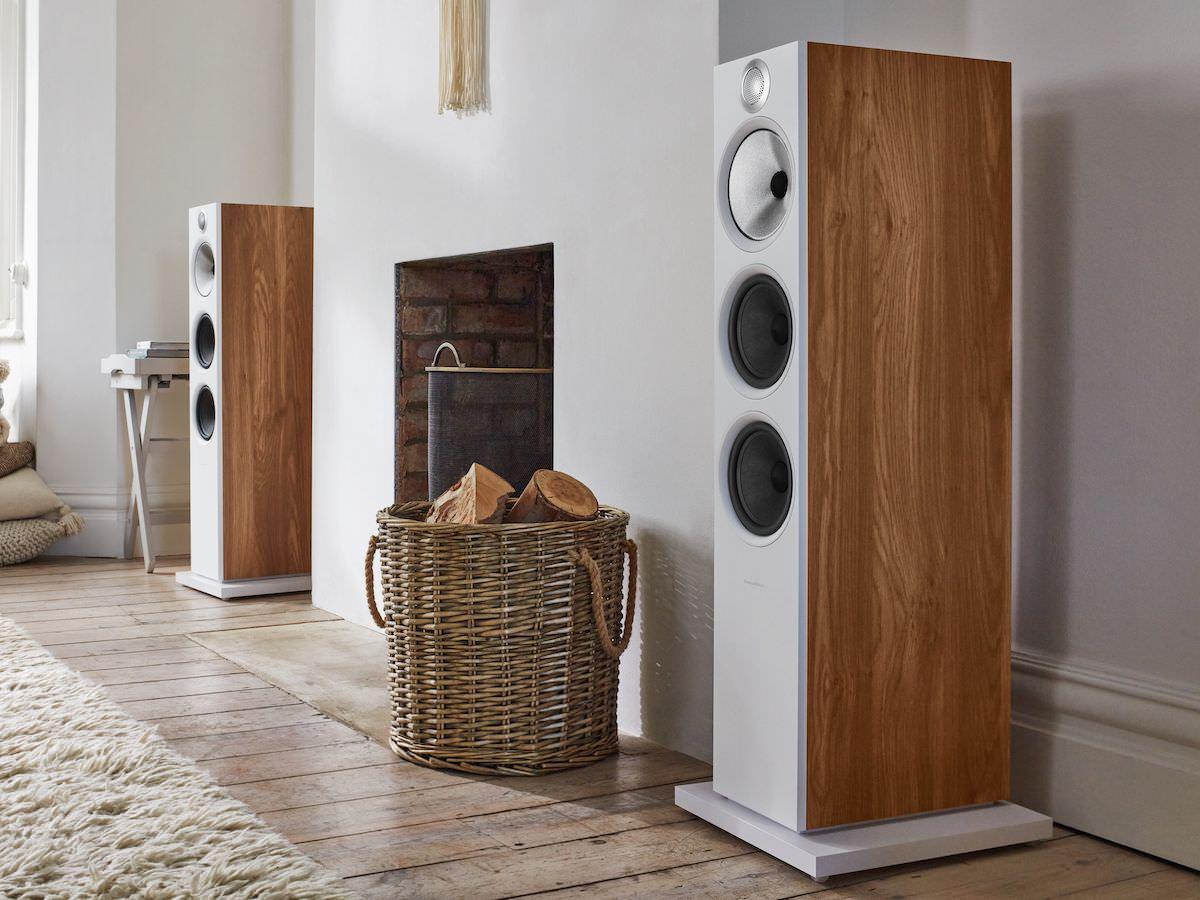Bower Wilkins 603 S2 Anniversary Edition Floorstanding Loudspeakers in new Oak
