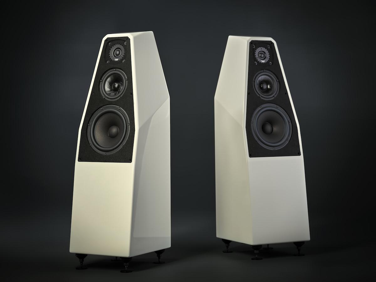 Wilson Audio SabrinaX Loudspeakers in Ivory Finish