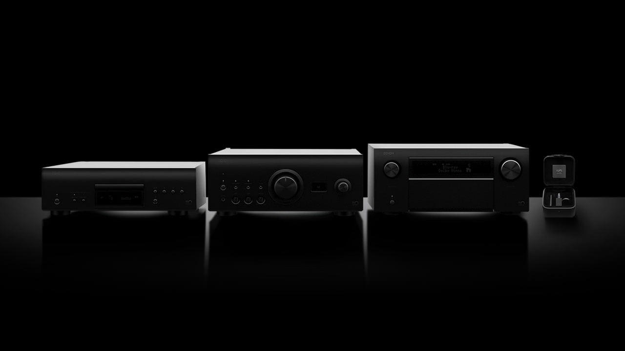 Denon 110 year Anniverary Edition hi-fi audio components