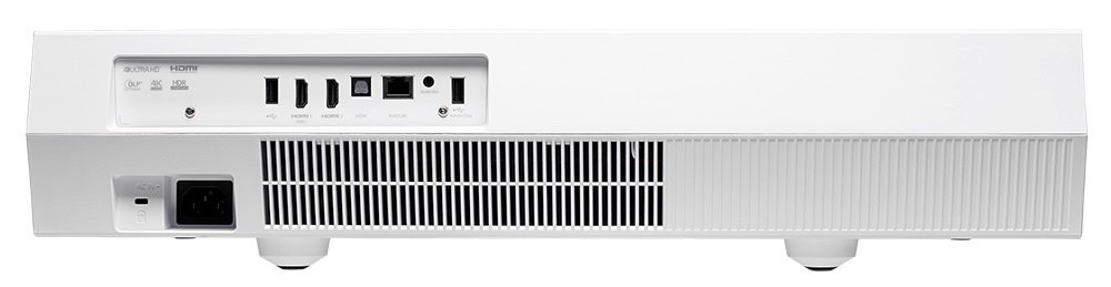 Optoma CinemaX P2 Projector Rear View