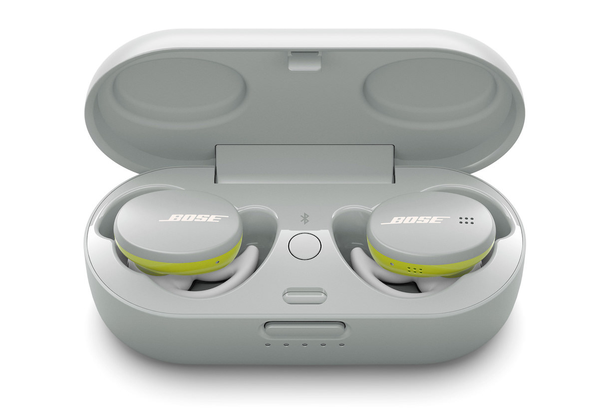 Bose Sport Earbuds in Charging Case (Glacier White)