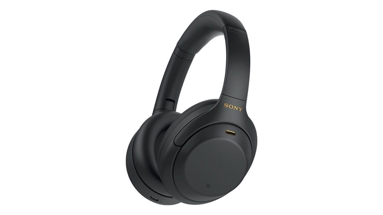 Sony WH-1000XM4 Wireless Noise Canceling Headphones in Black