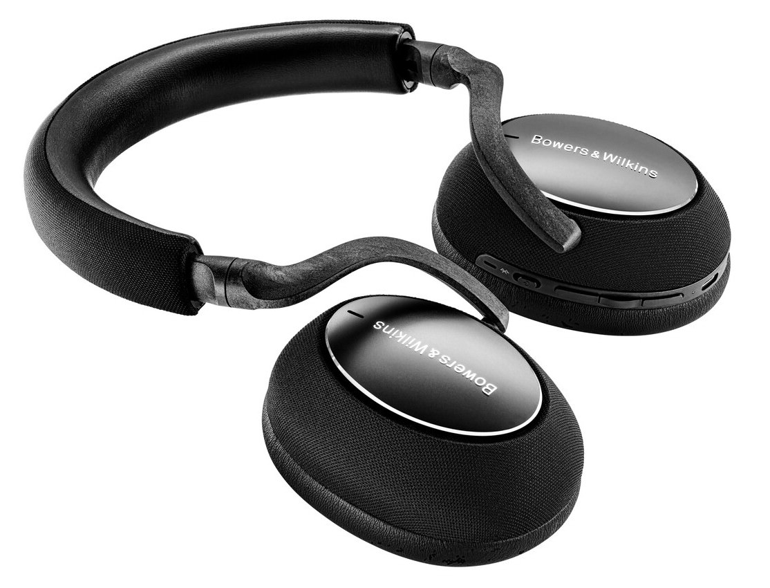 Bowers & Wilkins PX7 Carbon Edition Headphones Fold Flat