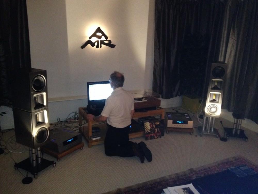 AMR Stereo Setup