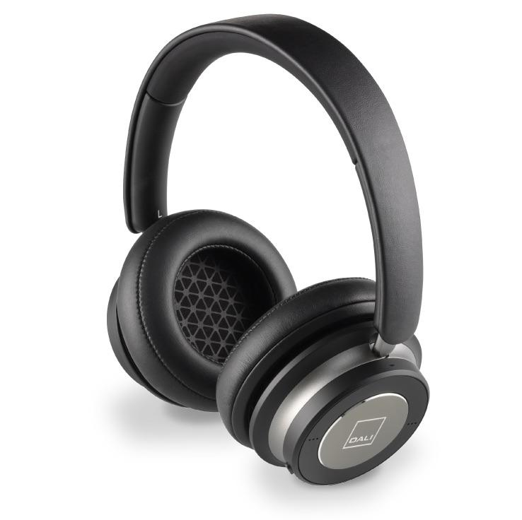 Dali IO-6 Wireless Headphones in Iron Black Finish