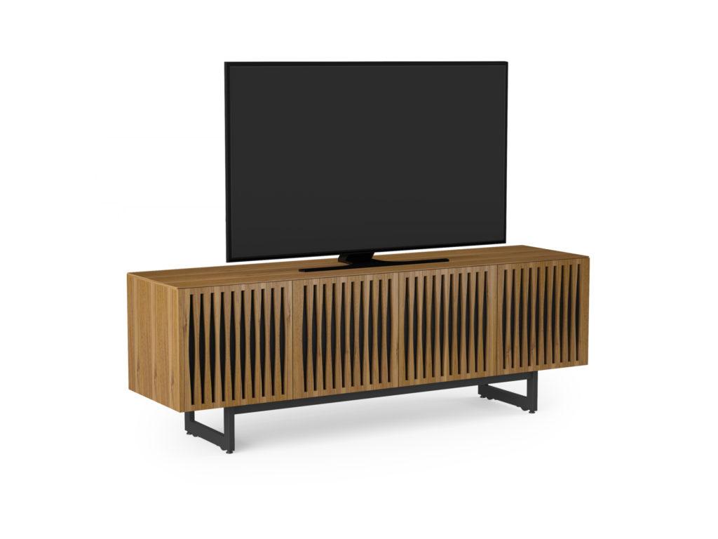 BDI Elements 8779 Tempo Walnut Media Console with TV