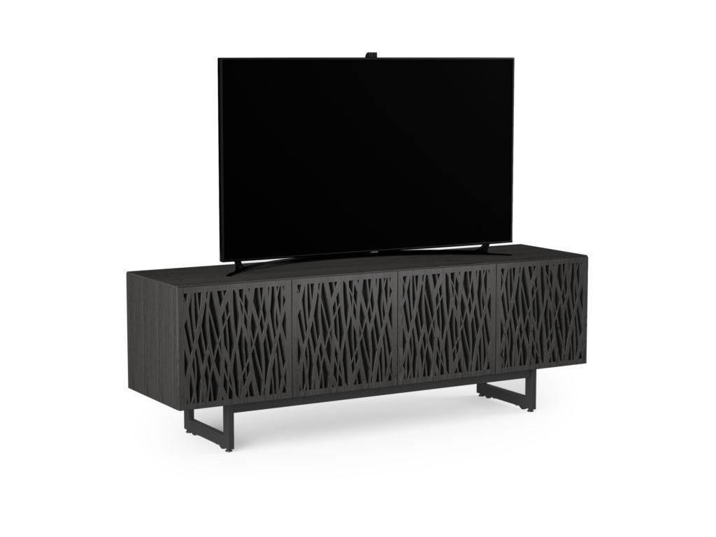 BDI Elements 8779 Wheat Charcoal Media Console with TV