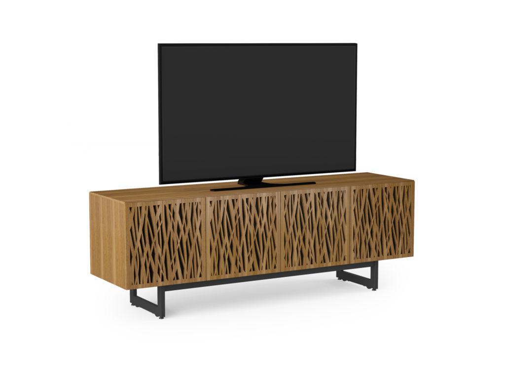 BDI Elements 8779 Wheat Walnut Media Console with TV