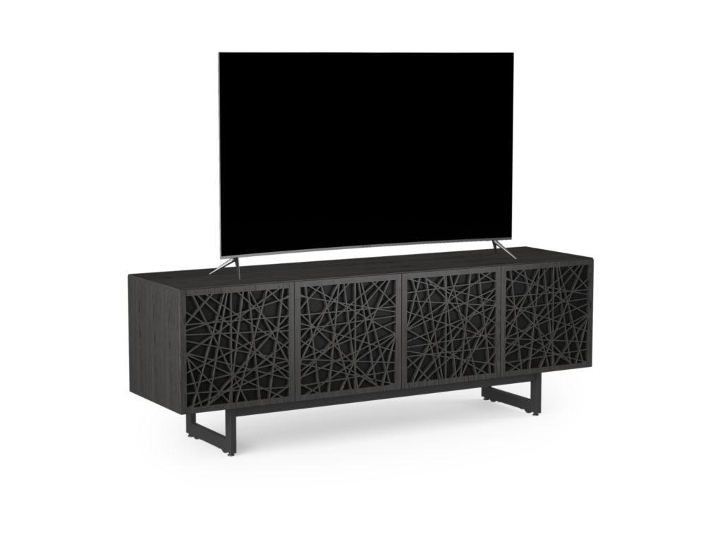 BDI Elements 8779 Ricochet Charcoal Media Console with TV