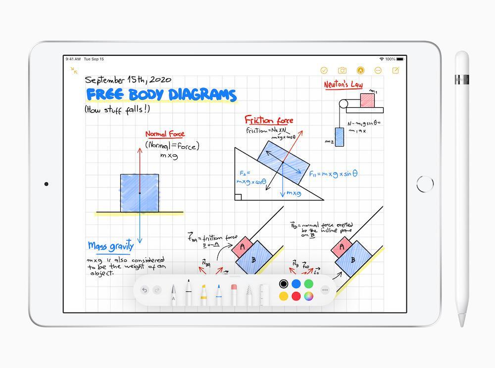 Apple iPad 8th Gen Scribble