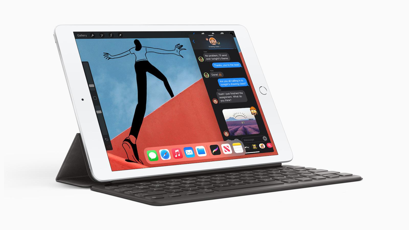 Apple iPad 8th Generation with Smart Keyboard (2020)