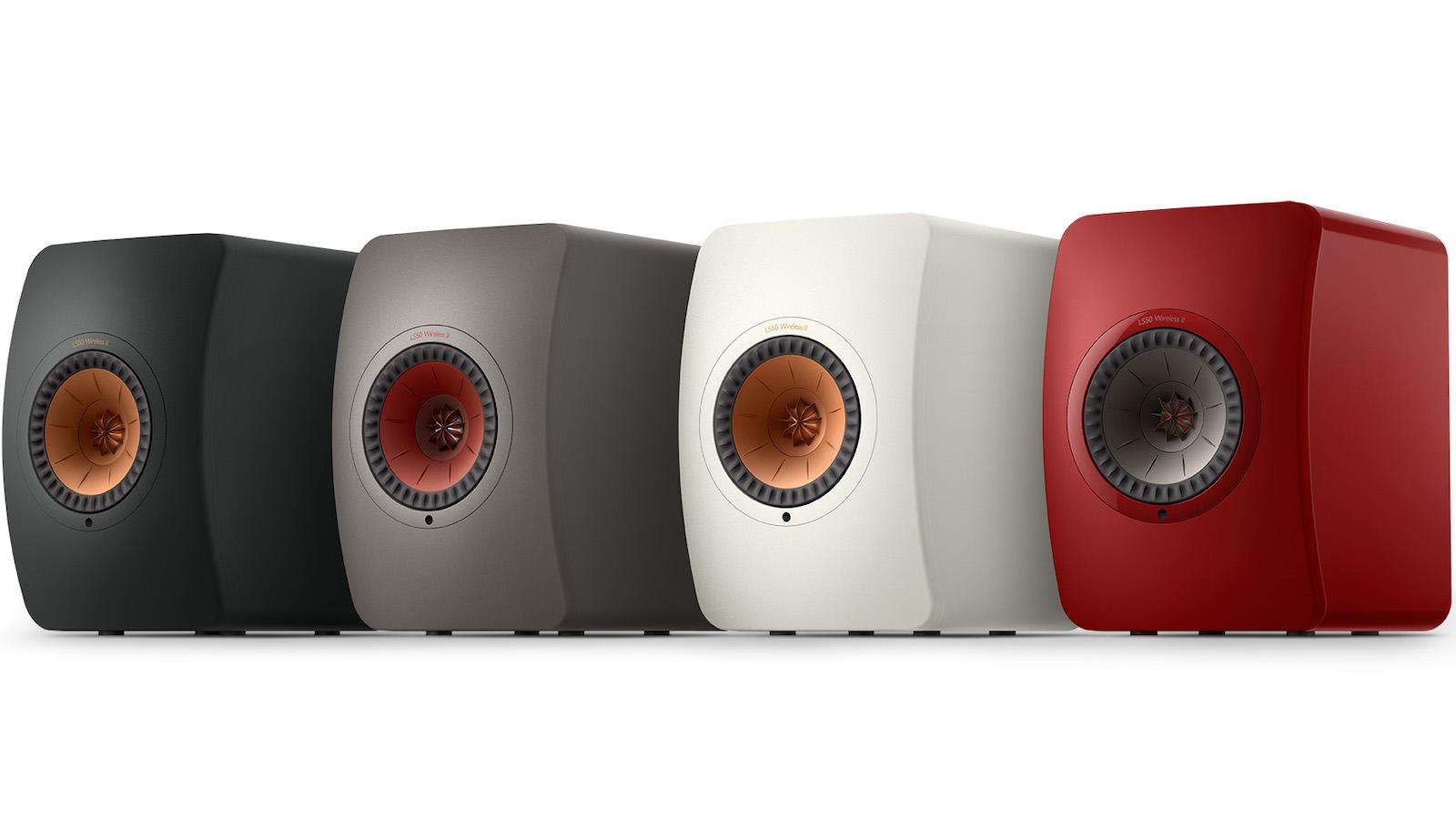 KEF LS50 Wireless II Powered Bookshelf Speakers (2020) - All Colors