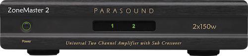 Parasound ZoneMaster 2 Amplifier Front View