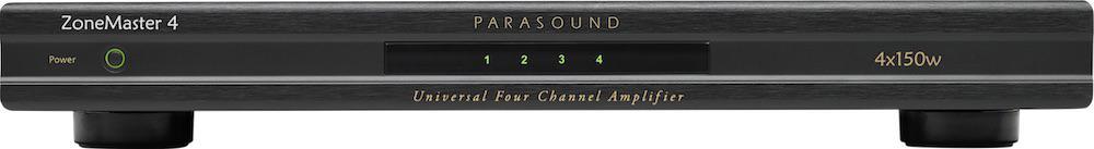 Parasound ZoneMaster 4 Amplifier Front View