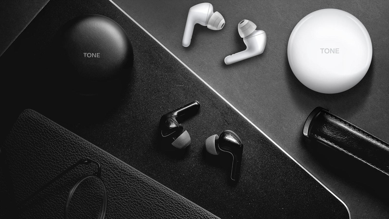 LG TONE Free HBS-FN6 True Wireless Earbuds in Black or White