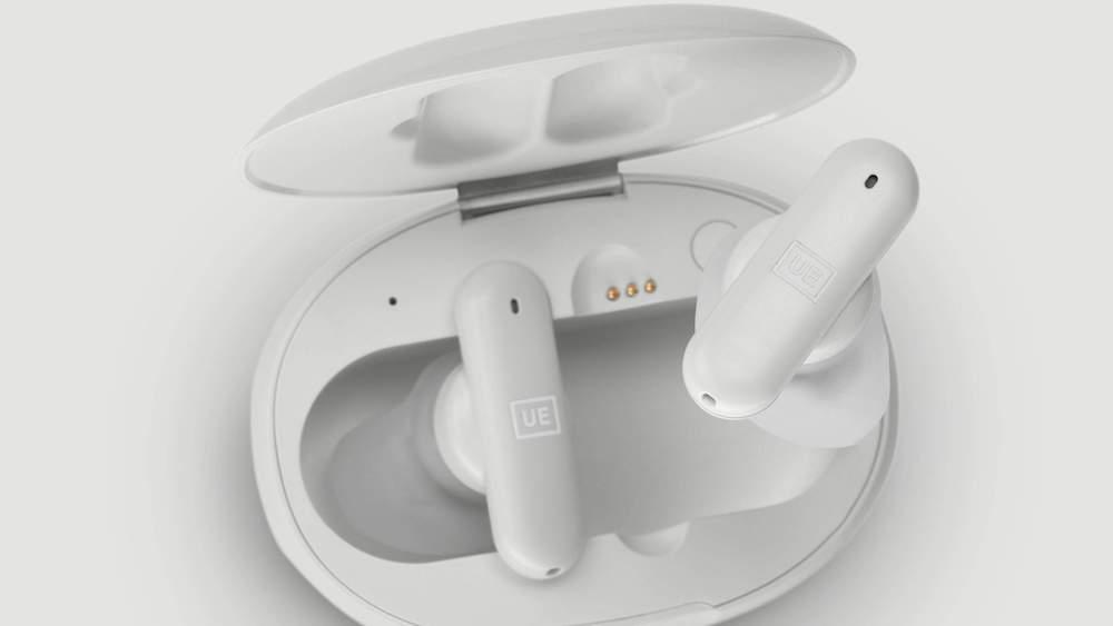 UE FITS Earphones in Cloud Grey Case