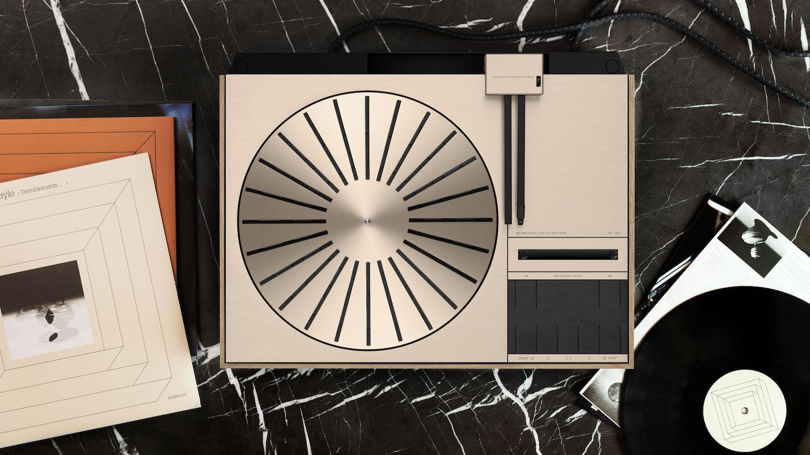 Bang & Olufsen Beogram 4000c Recreated Limited Edition Turntable - Top View