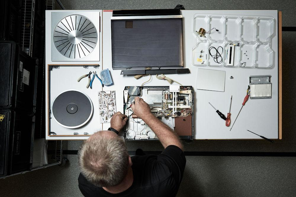 Bang & Olufsen Beogram 4000c Recreated Limited Edition Turntable Restoration Process