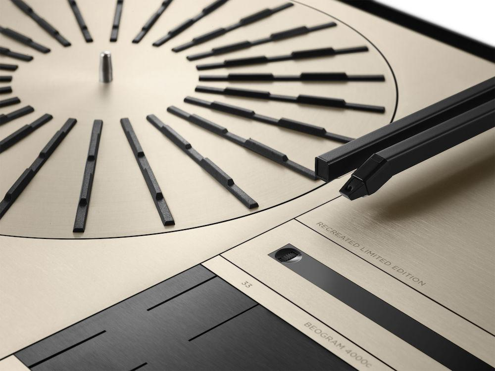 Bang & Olufsen Beogram 4000c Recreated Limited Edition Turntable Closeup