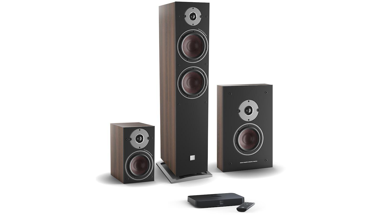 DALI OBERON C Active Speakers and Wireless Transmitter Group