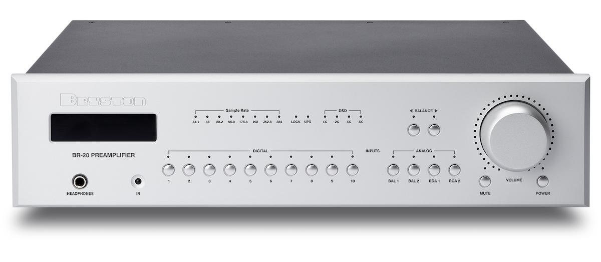 Bryston BR-20 Preamplifier Front