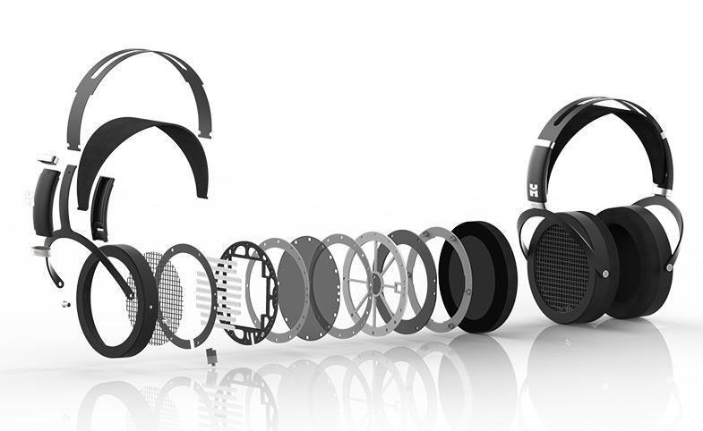 HiFiMAN Sundara Headphones Exploded Parts