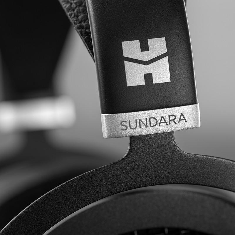 HiFiMAN Sundara Headphone Closeup of Logo