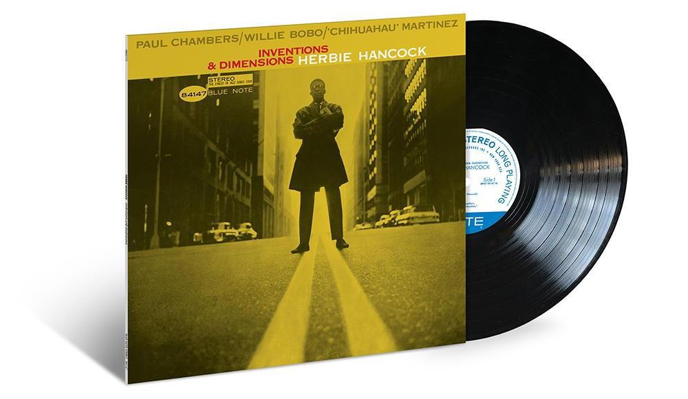 Herbie Hancock – Inventions & Dimensions (Blue Note 80 Vinyl Edition, 33 RPM, 180 gram)