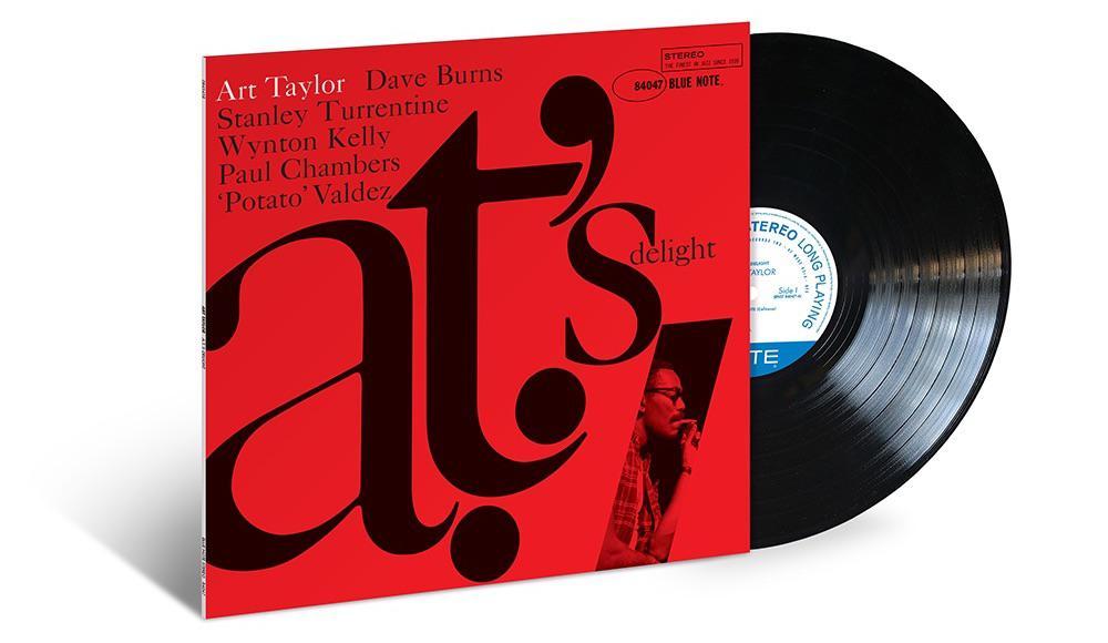 Art Taylor – A.T.'s Delight (Blue Note 80 Vinyl Edition, 33 RPM, 180 gram)