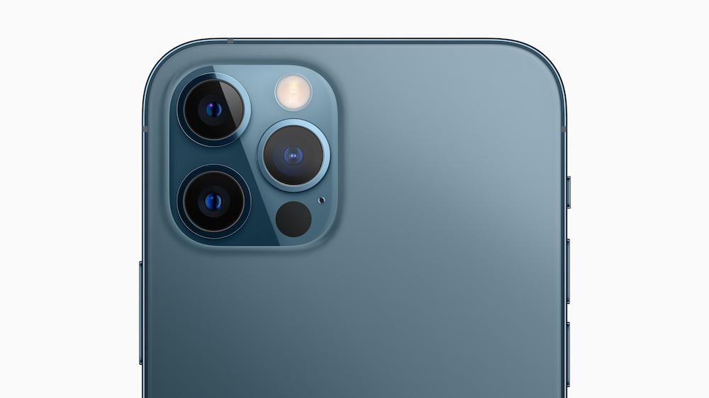 Apple iPhone 12 Pro (2020) Rear Cameras Pacific Blue