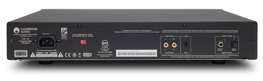 Cambridge Audio Cx Series 2 CXC CD Player Rear View