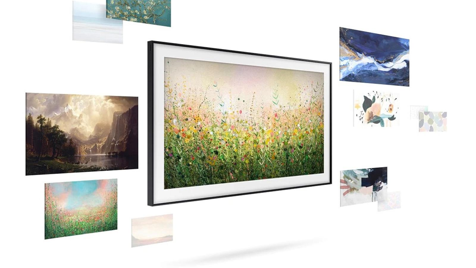 Samsung The Frame 4K QLED HDR TV (2020)