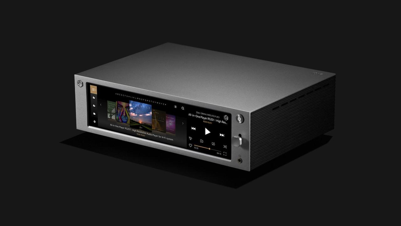 Rose RS201E Professional HiFi Media Player