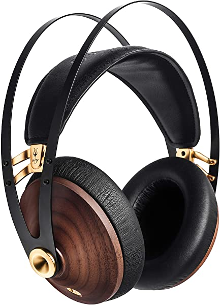 Meze 99 Classics Over-ear Headphones in Walnut and Gold