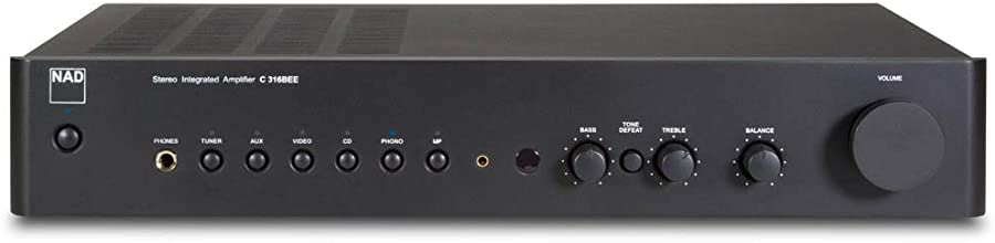 NAD C 316BEE V2 Stereo Integrated Amplifier Front View
