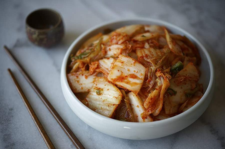 Lucky Foods Seoul Kimchi in Bowl