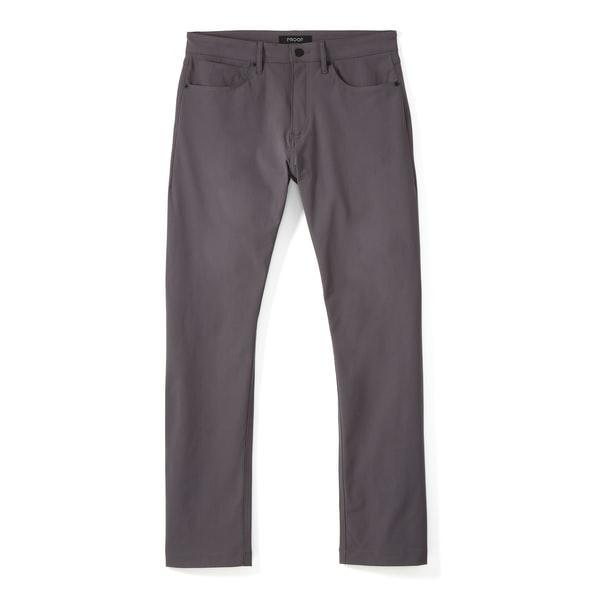 Huckberry Proof Foundation 5-pocket Pant in Dark Grey