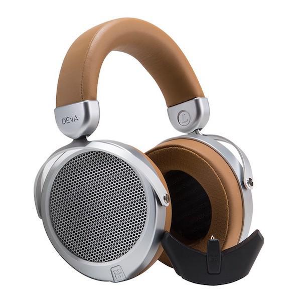 HiFiMan Deva Planar Magnetic Headphones with Bluemini Adapter Detached