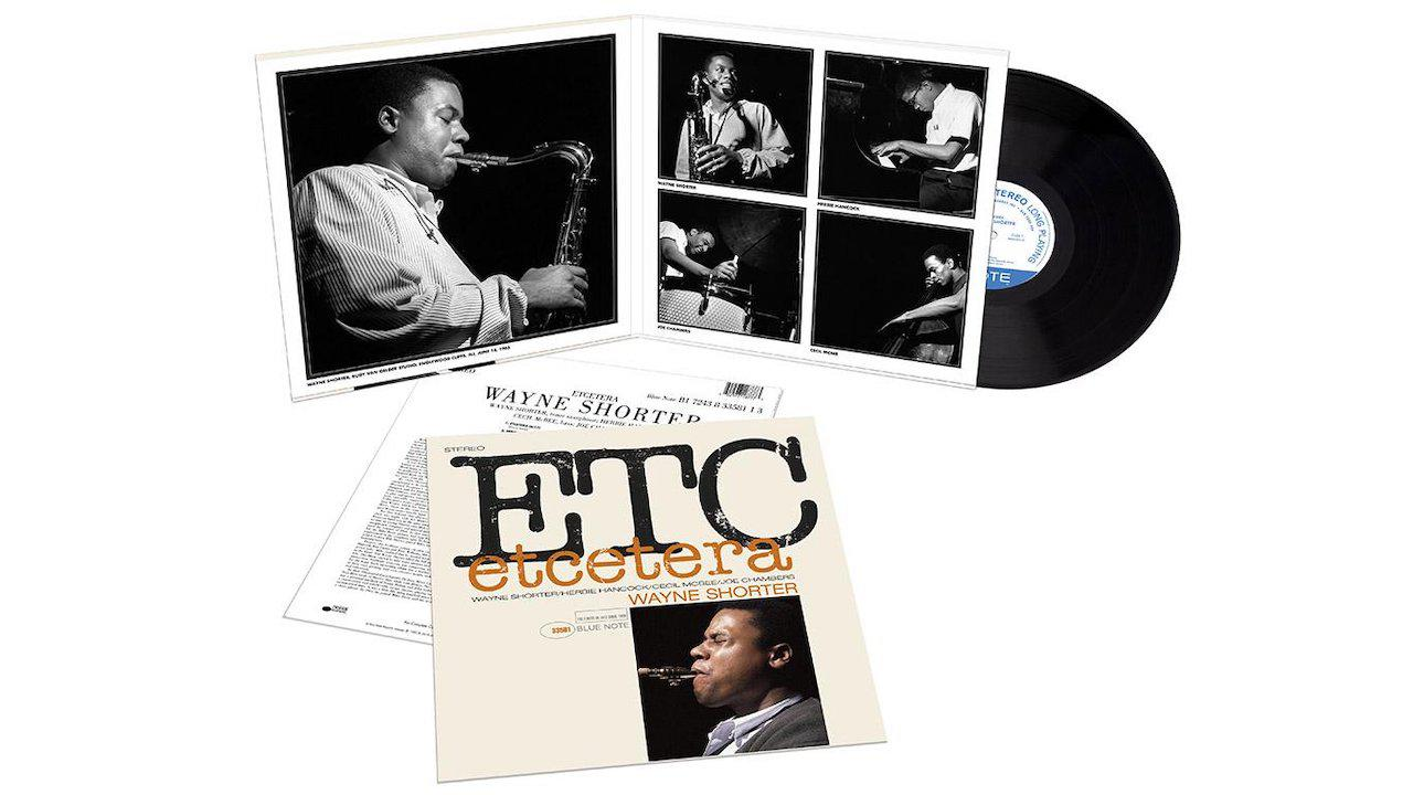 Blue Note Records Wayne Shorter Etcetera LP