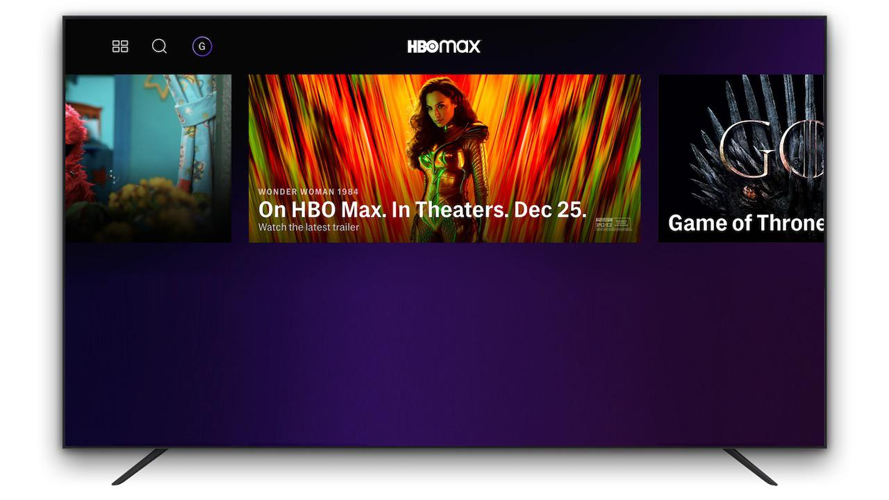 HBO Max Movies In Theaters Home Screen