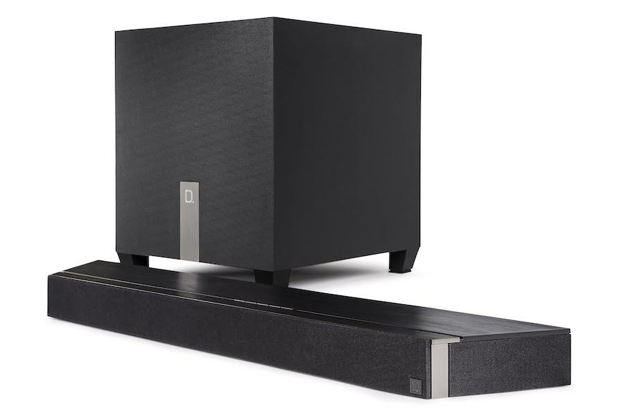 Definitive Technology Studio 3D Mini Sound Bar with Wireless Subwoofer