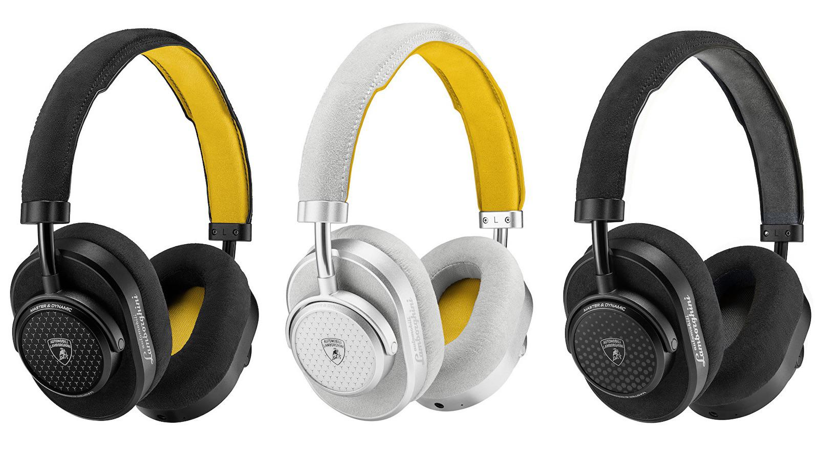 Master & Dynamic MW65 Lamborghini Over-Ear Headphone Colors