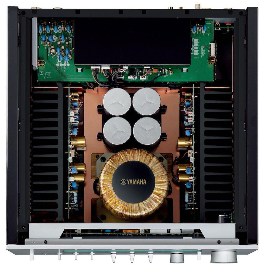 Yamaha A-S3200 Integrated Amplifier Top View Inside