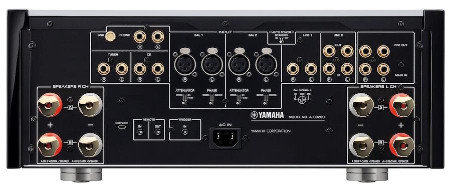 Yamaha A-S3200 Integrated Amplifier Rear