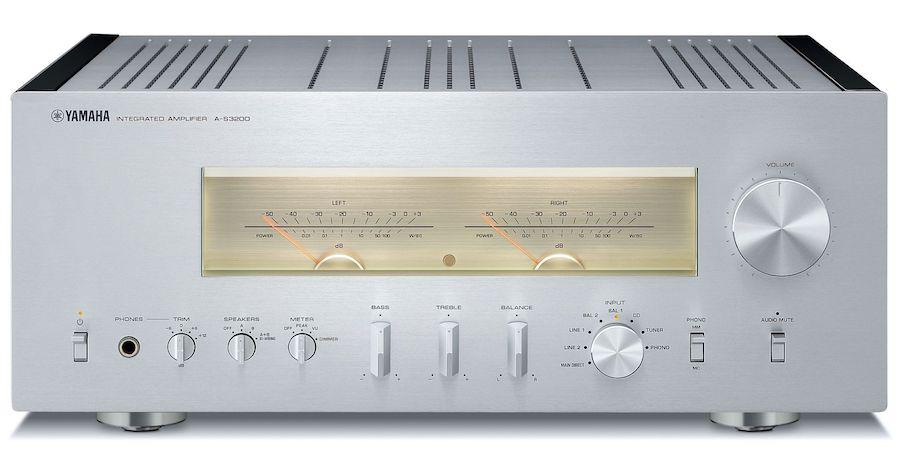 Yamaha A-S3200SL Integrated Amplifier (Silver) Front