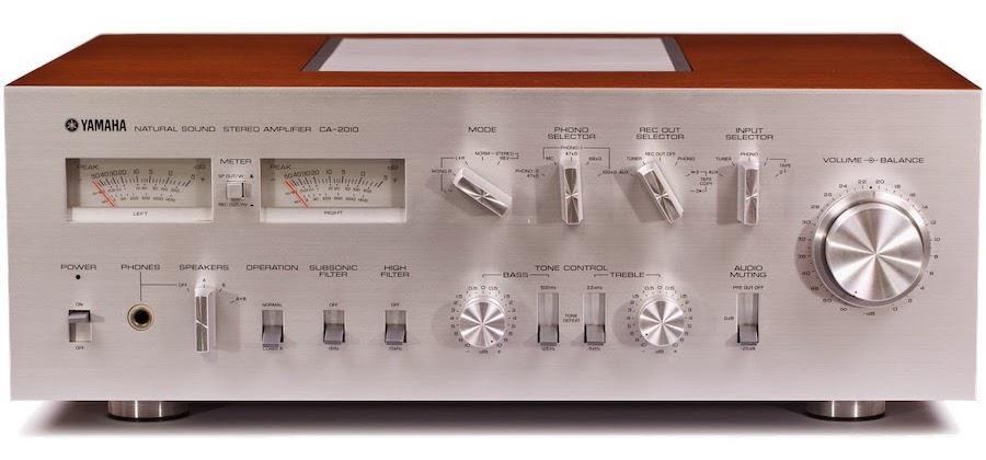 Yamaha CA-2010 Integrated Stereo Amplifier (1977)