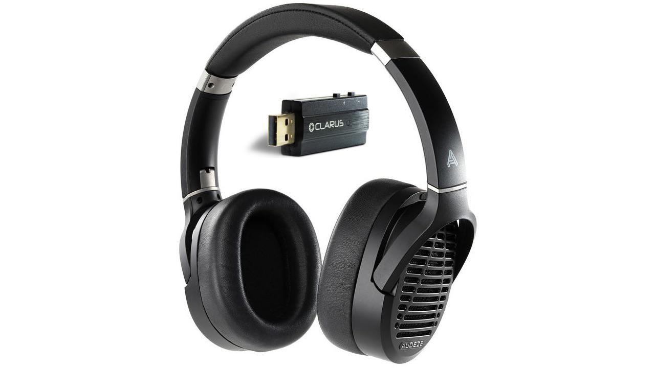Audeze LCD-1 Headphones with Clarus Coda USB DAC