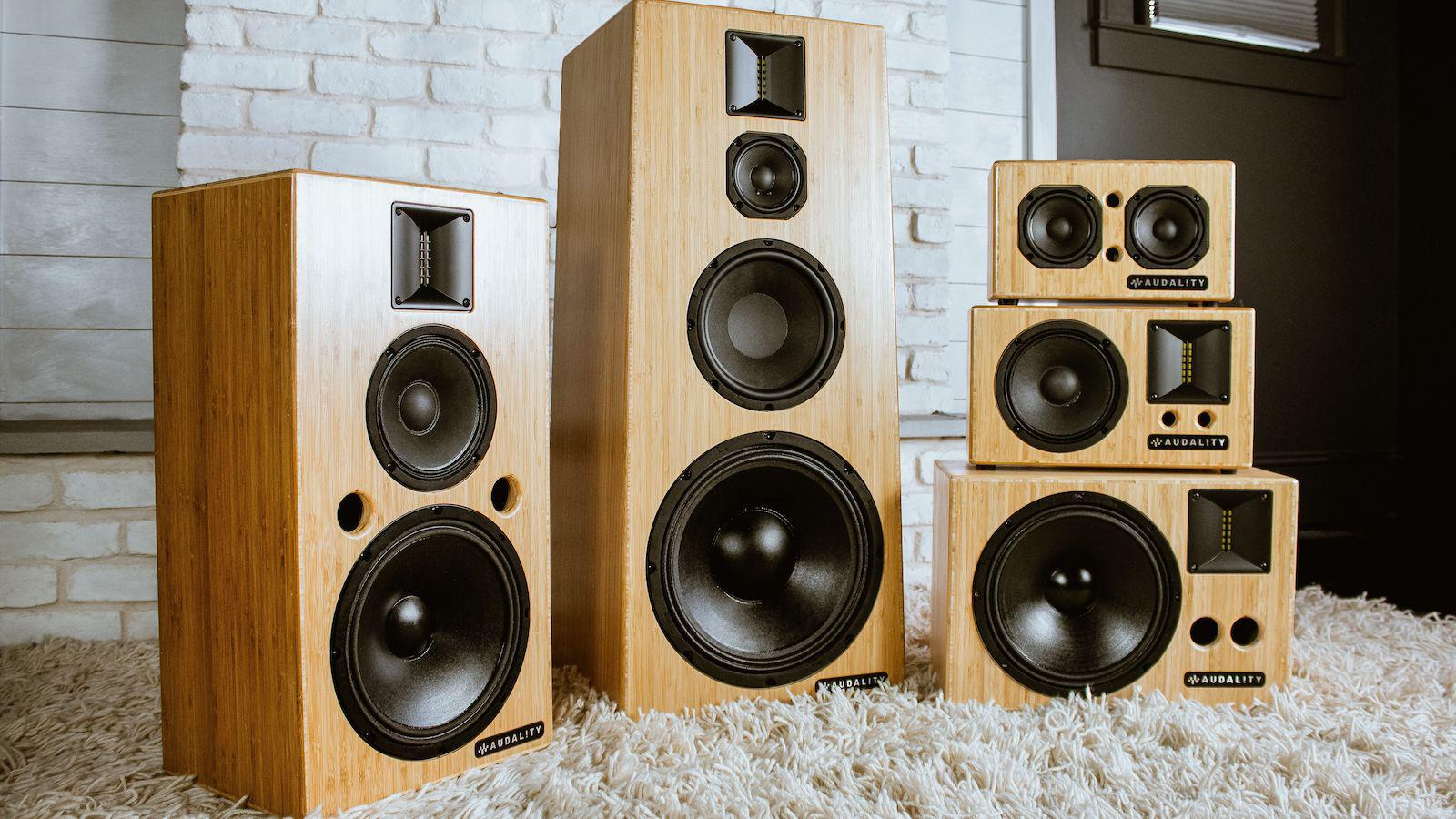 Audality S Series wireless speaker systems