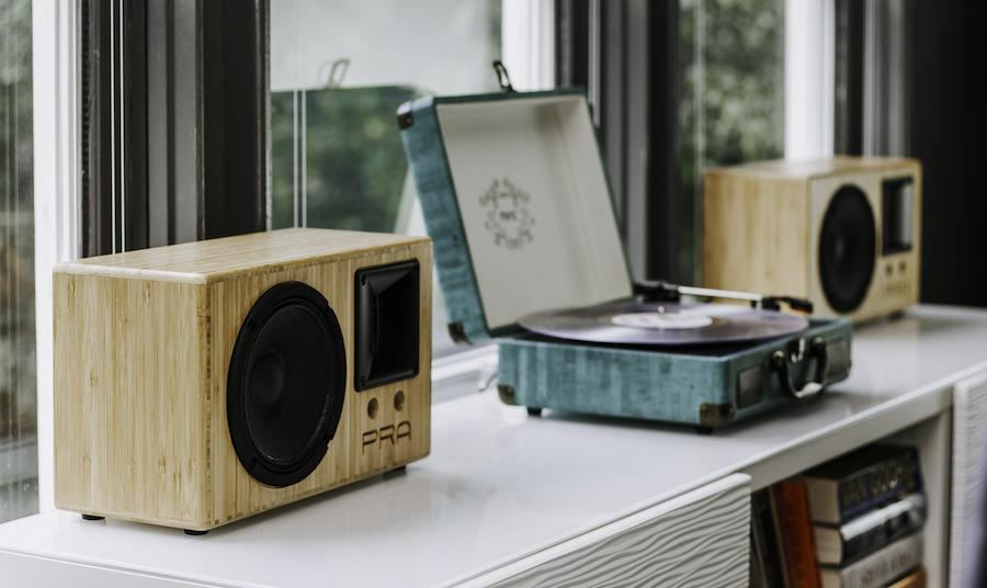 Audality S3 wireless stereo speakers